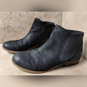 Franco Sarto Black Kabrina Ankle Boots